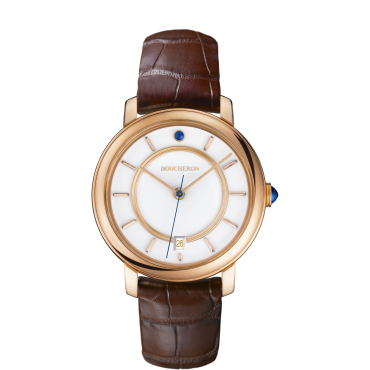 Epure Watch in pink gold indexes-Small